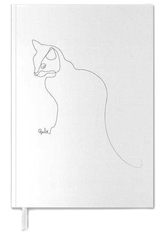 One Line Cat Personal Planner