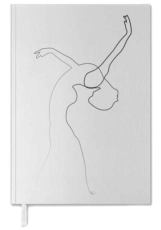 One Line Dancer Personal Planner