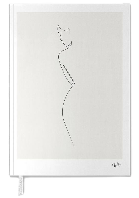 One Line Nude Personal Planner