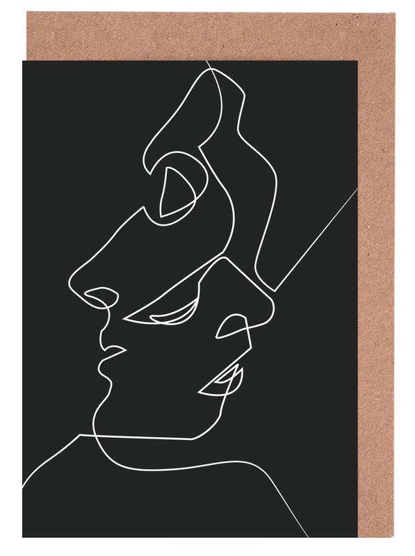 Close Noir -Grußkarten-Set