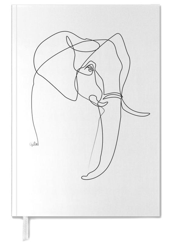 Noir & blanc, Éléphants, Elephant Line agenda