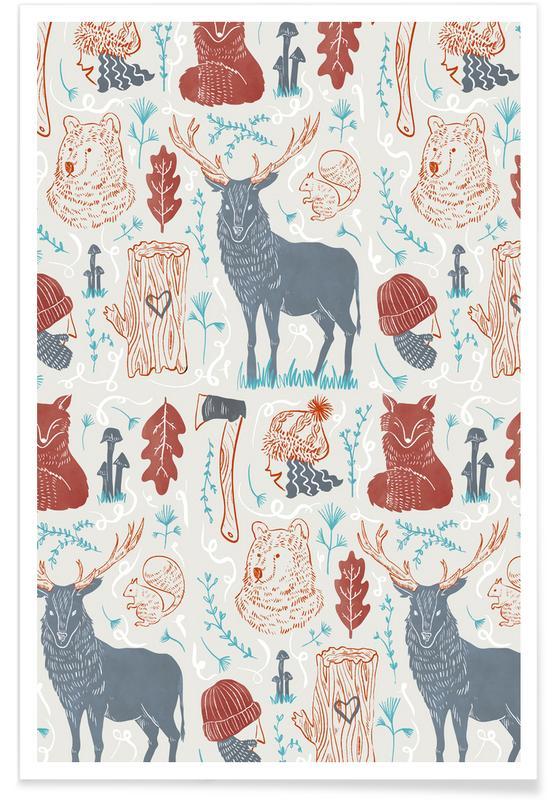 , Woodlands -Poster