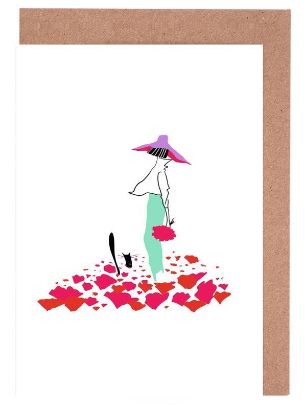 Poppy Fields Greeting Card Set