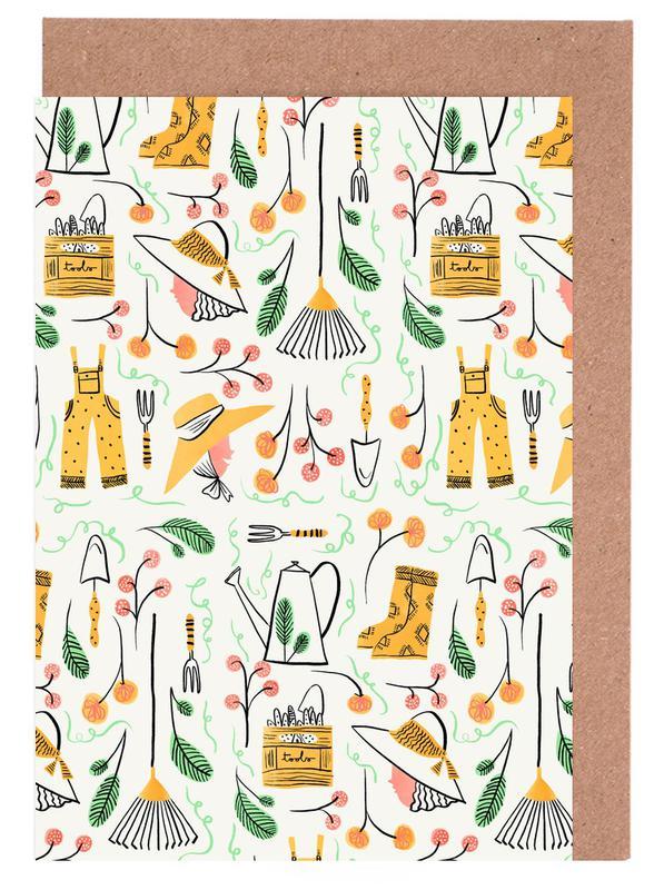 Gardening Greeting Card Set