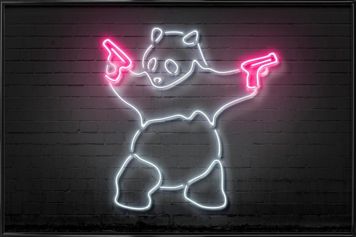 Panda Framed Poster