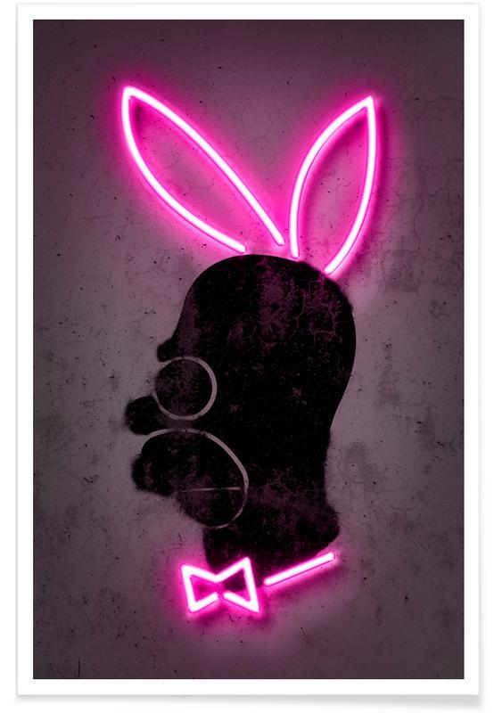 Pop Art, Bunny -Poster