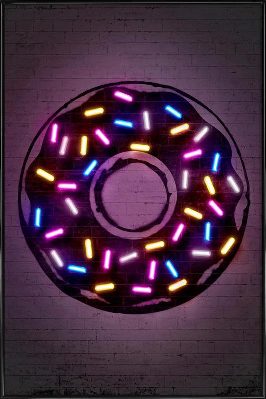 Donut Framed Poster
