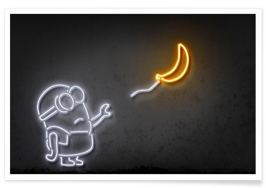 Popart, Films, Kunst voor kinderen, Street art, Banana poster