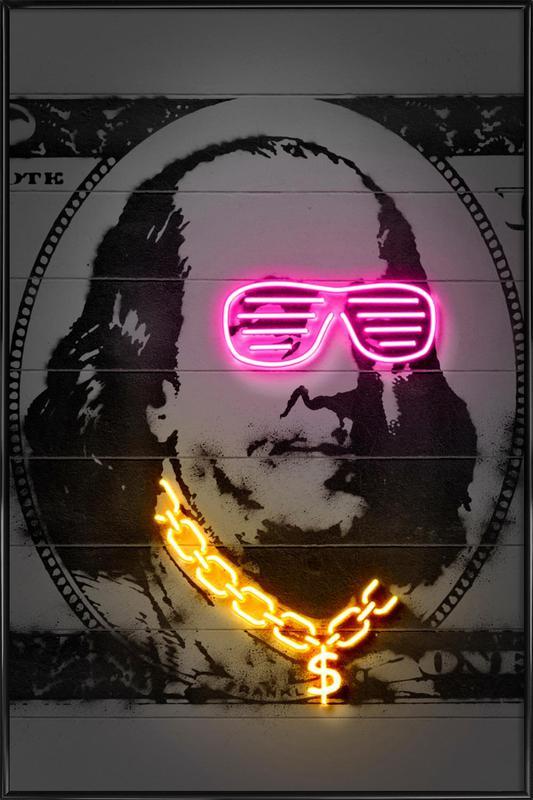 Franklin Framed Poster