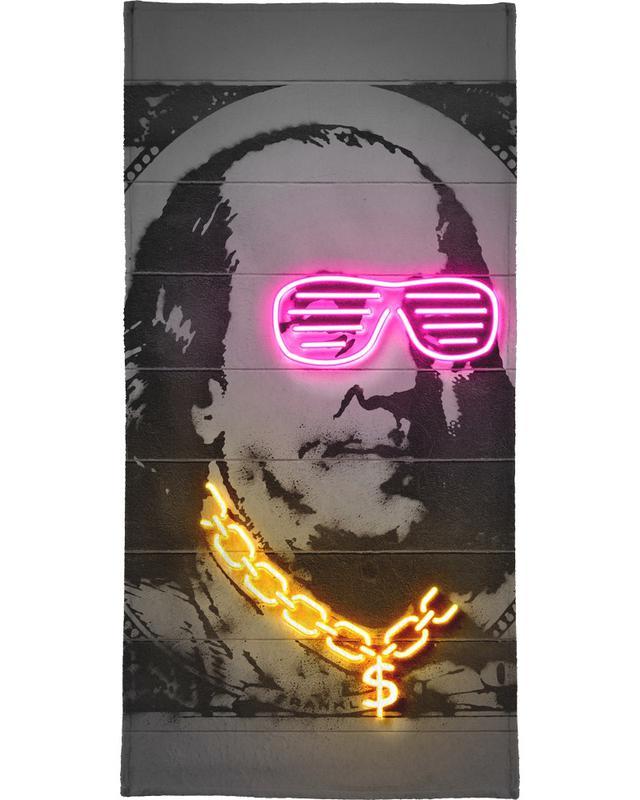 Personnages politiques, Pop Art, Franklin serviette de bain
