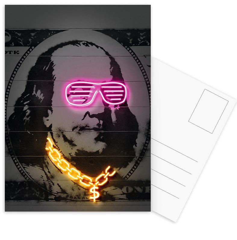 Personnages politiques, Pop Art, Franklin cartes postales
