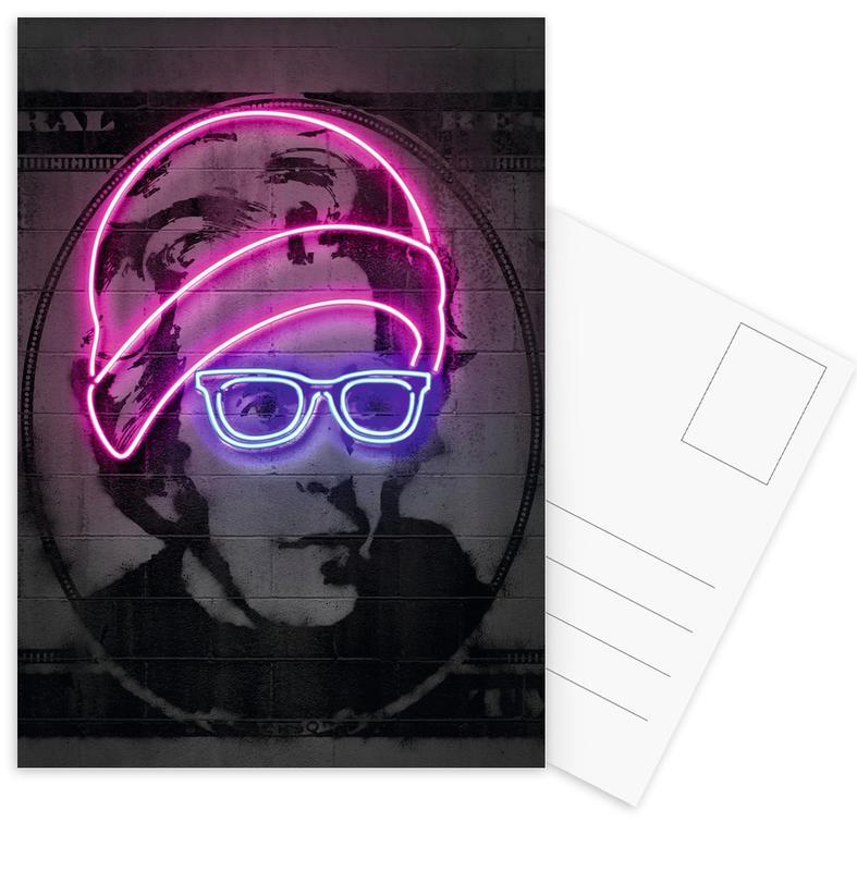 Personnages politiques, Pop Art, Jackson cartes postales