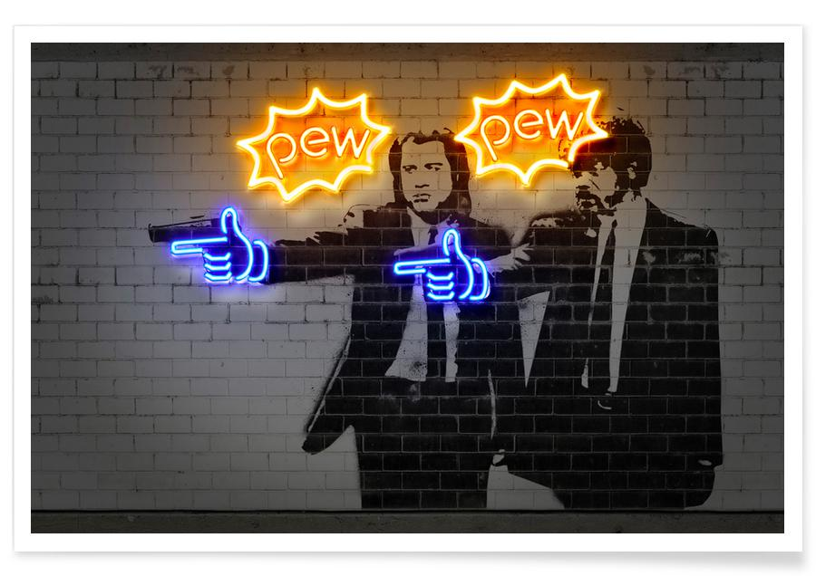 Pew Pew -Poster