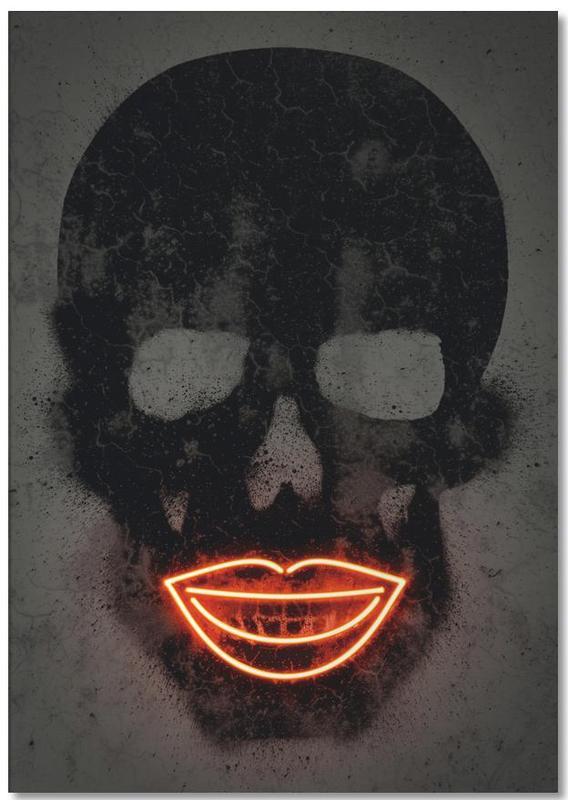 Skull -Notizblock