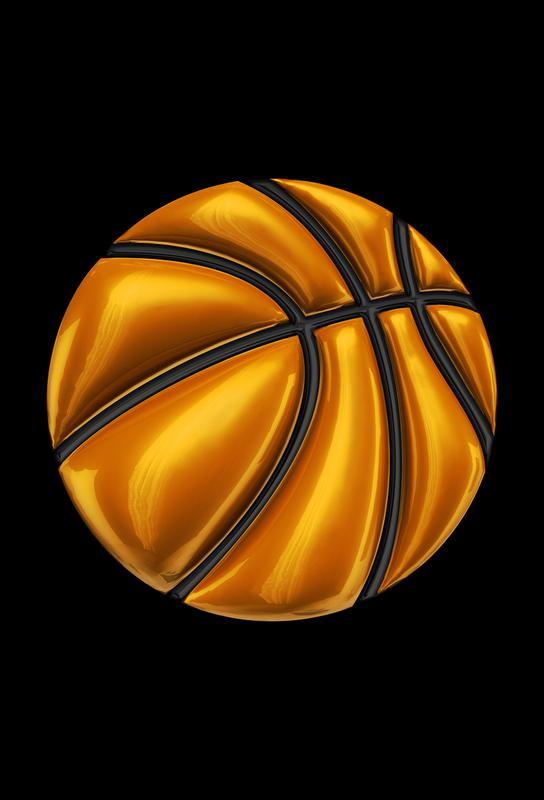 Basketball -Acrylglasbild