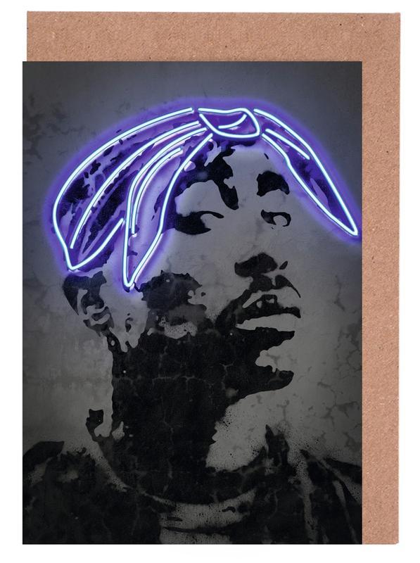 Pop Art, Street Art, 2Pac cartes de vœux
