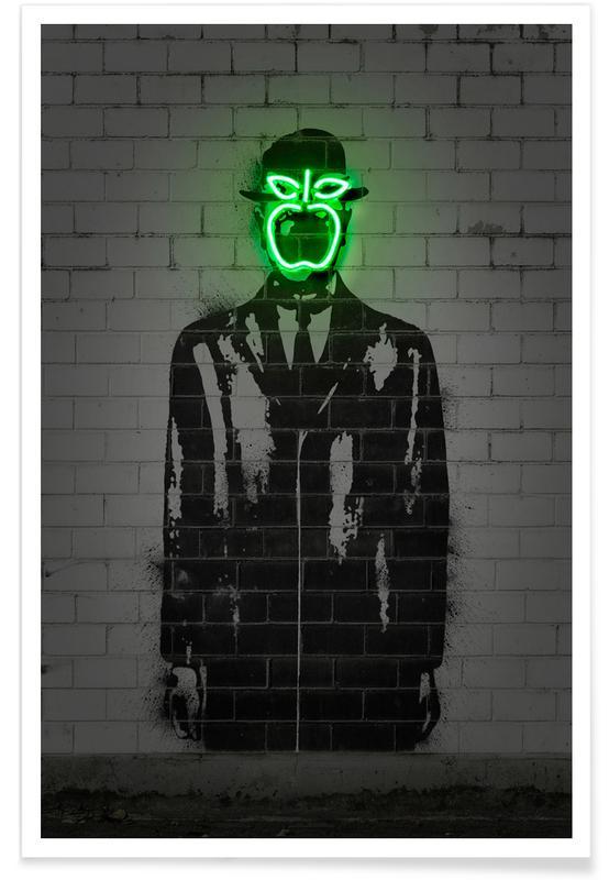 Street Art, Pop Art, The Son Of Man -Poster
