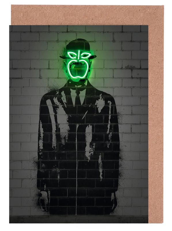 Street Art, Pop Art, The Son Of Man cartes de vœux