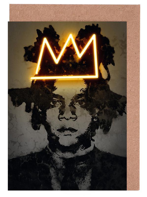 Pop Art, Street Art, Basquiat cartes de vœux