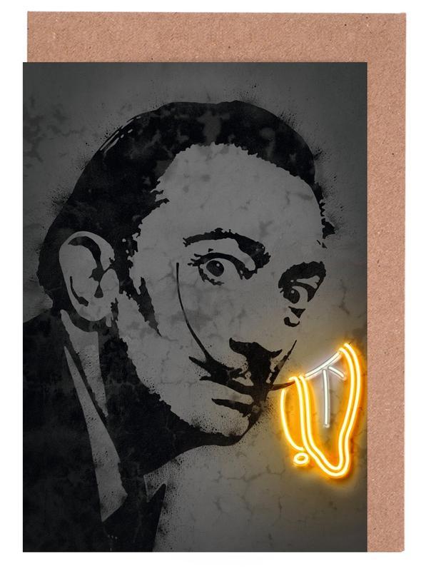 Pop Art, Salvador Dali, Street Art, Dali cartes de vœux