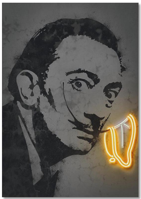 Pop Art, Salvador Dali, Street Art, Dali bloc-notes