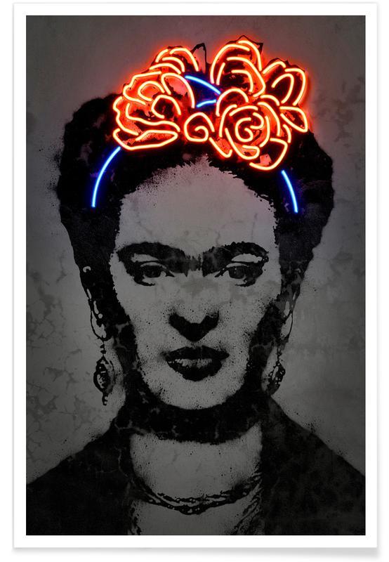 Street Art Style, Frida Kahlo, Pop Art, Frida Poster