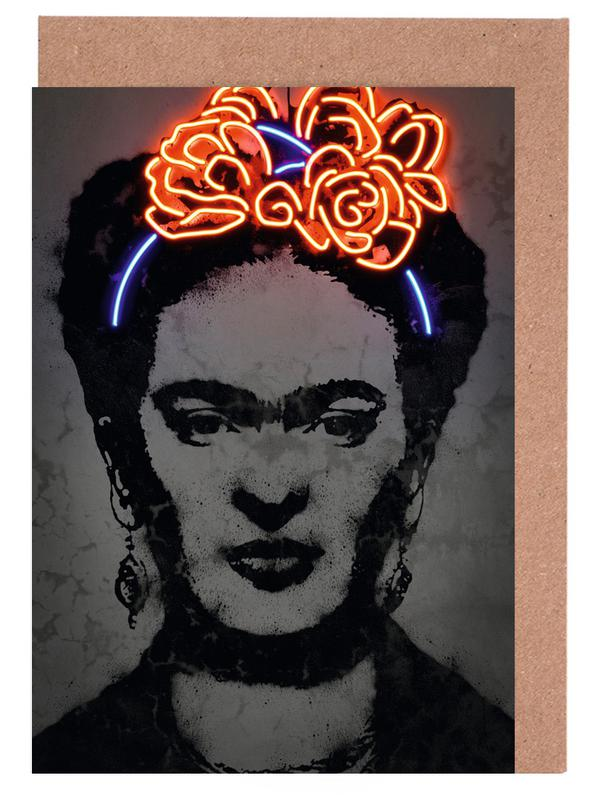 Pop Art, Frida Kahlo, Street Art, Frida cartes de vœux