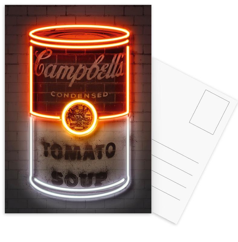 Street Art, Pop Art, Soup Can cartes postales