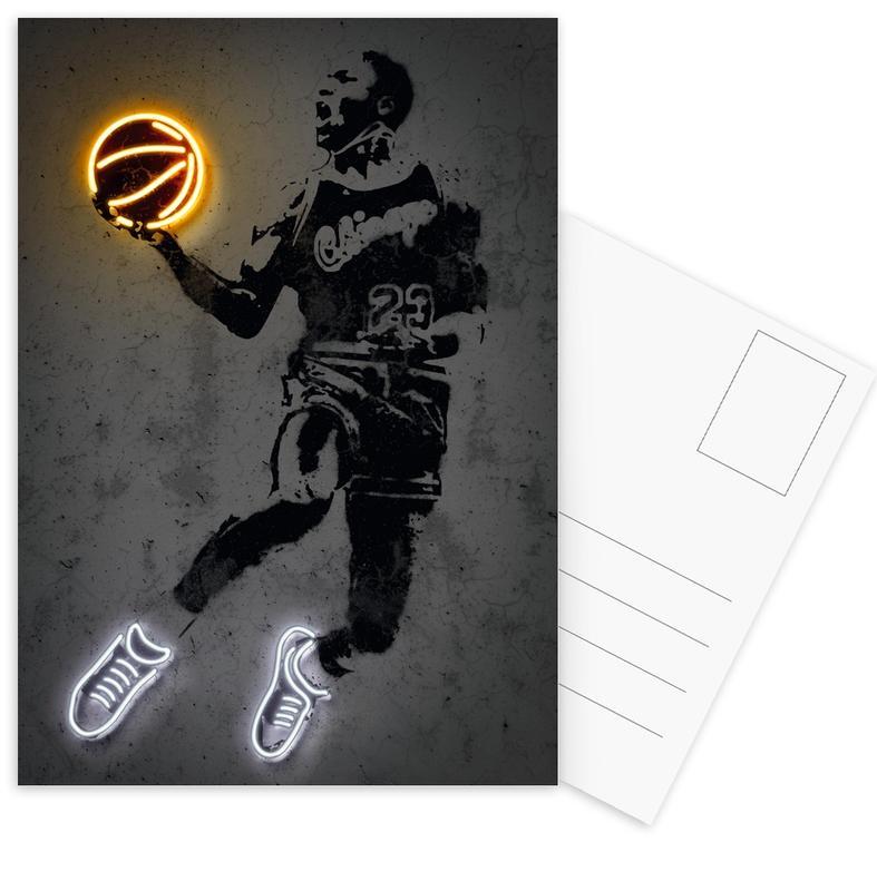 Basket-ball, 23 Legend cartes postales