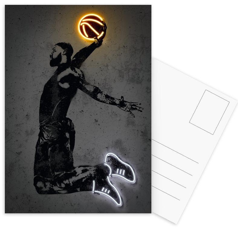 Basketball, James Postcard Set
