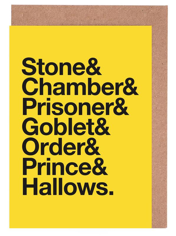 Films, Harry Potter cartes de vœux