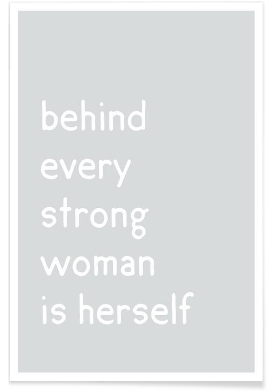 Citater & sloganer, Mors dag, Motiverende, Herself Plakat