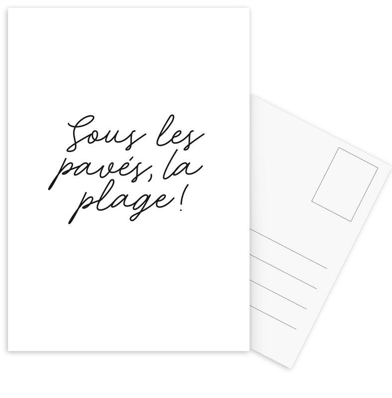 La Plage cartes postales