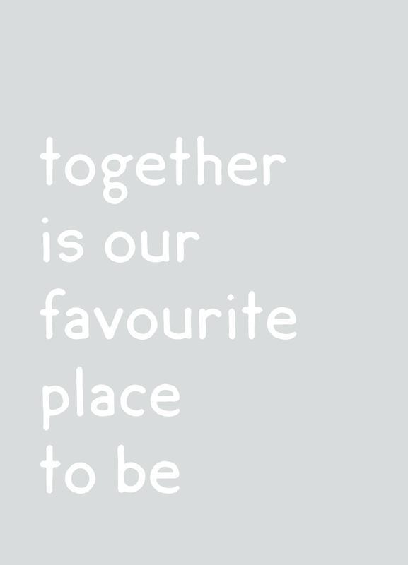 Together -Leinwandbild