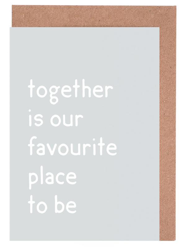 Together cartes de vœux