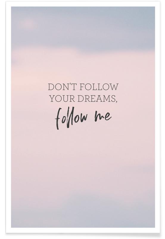 #Follow poster