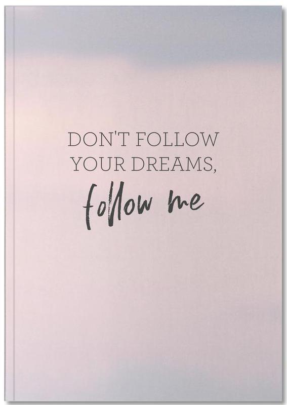 Humour, Motivation, Citations et slogans, #Follow Notebook