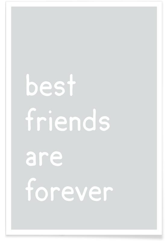 Motivacionales, Citas y eslóganes, Friendship póster