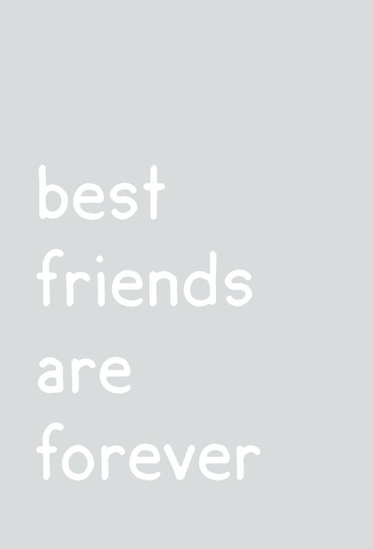 Friendship Aluminiumtavla
