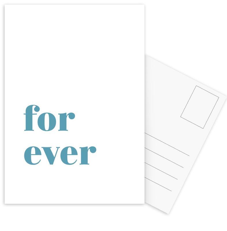 For Ever cartes postales