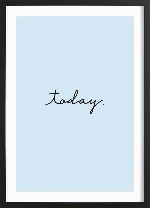 Today Poster i träram