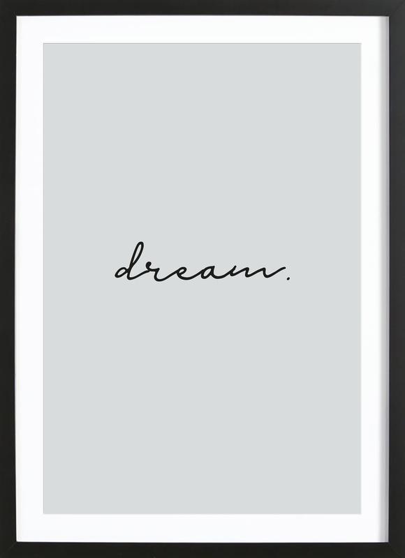 Dream -Bild mit Holzrahmen