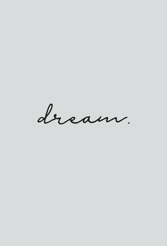 Dream Aluminiumtavla