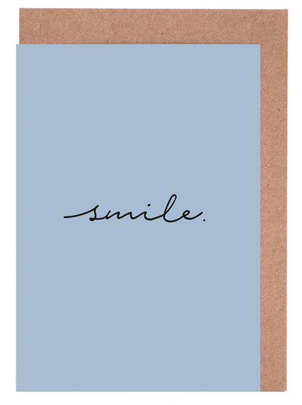 Smile -Grußkarten-Set