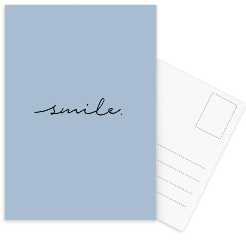Smile cartes postales