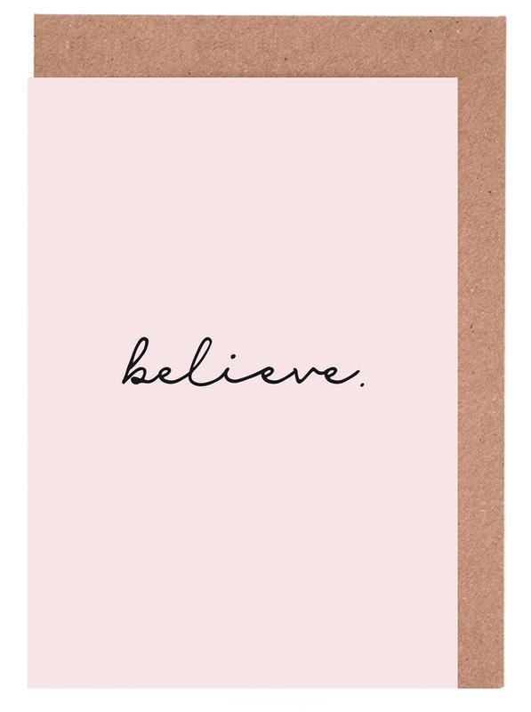 Believe cartes de vœux