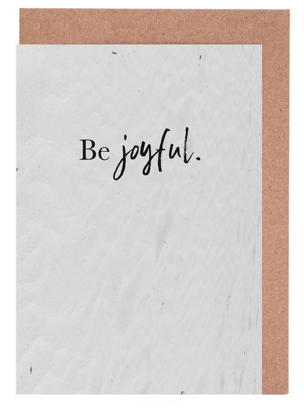 Be Joyful -Grußkarten-Set