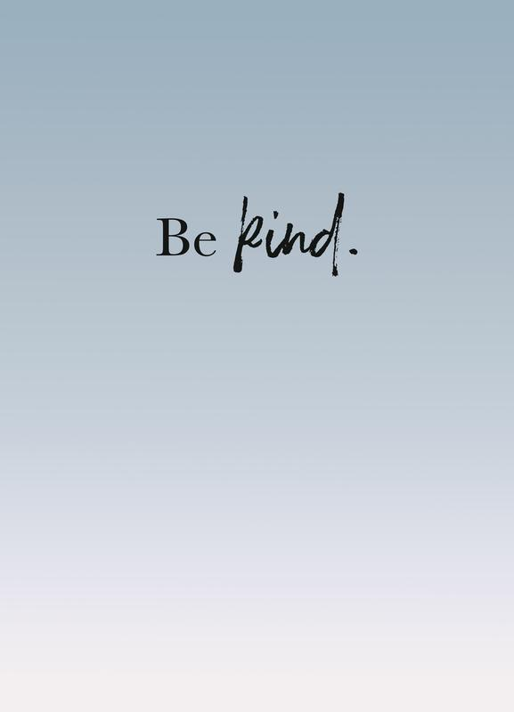 Be Kind toile
