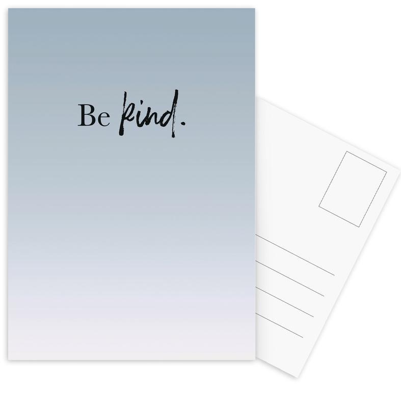 Be Kind Postcard Set