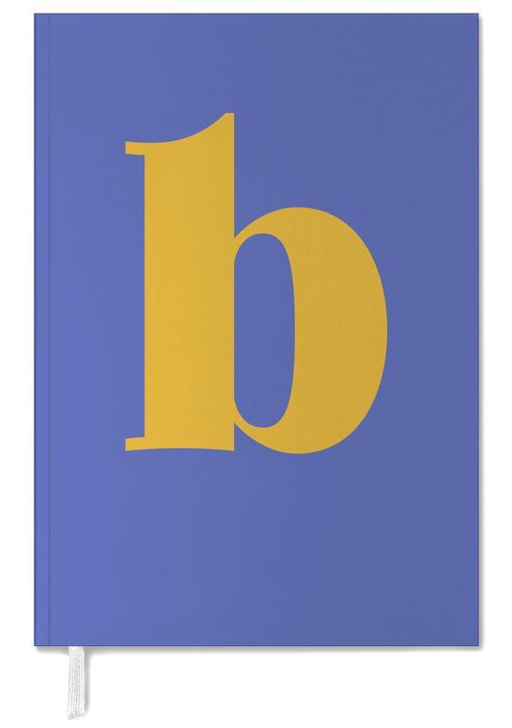 Blue Letter B -Terminplaner